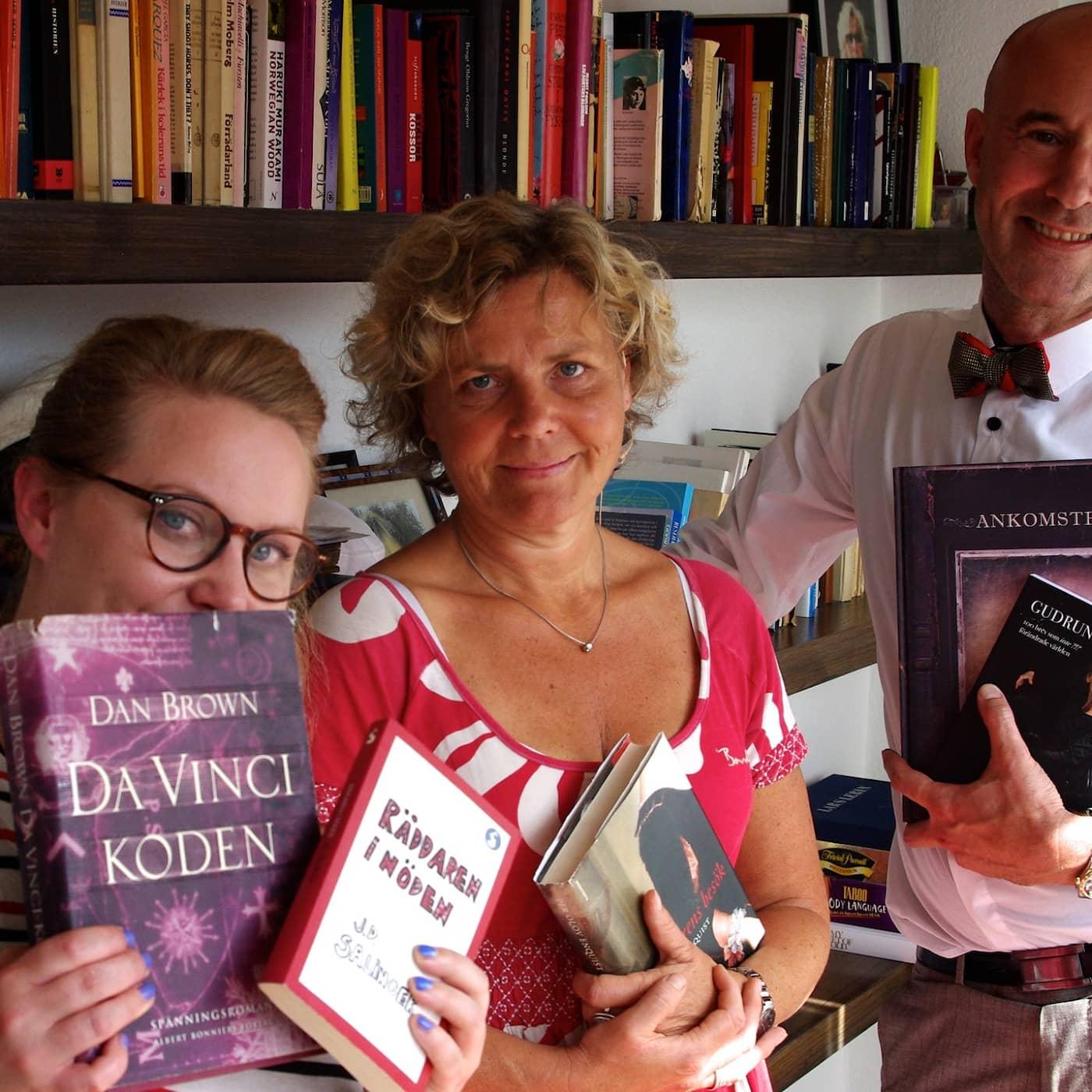 Min bokhylla hemma hos Anna Serner