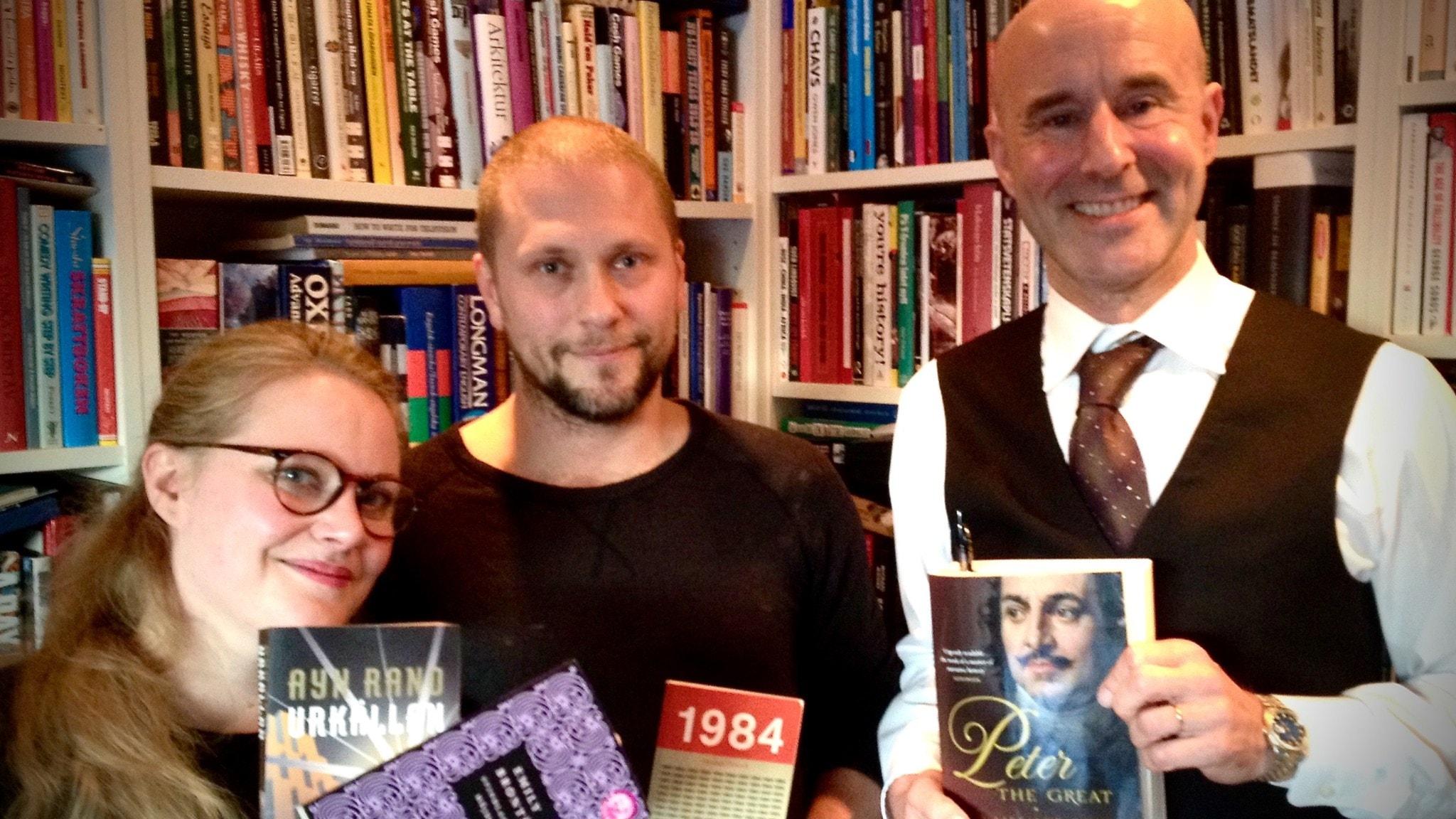 Jenny Lindh, Magnus Betnér och Mark Levengood
