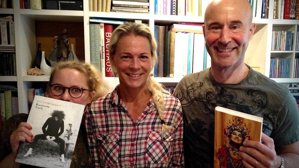 Jenny Lindh, Malena Ernman och Mark Levengood