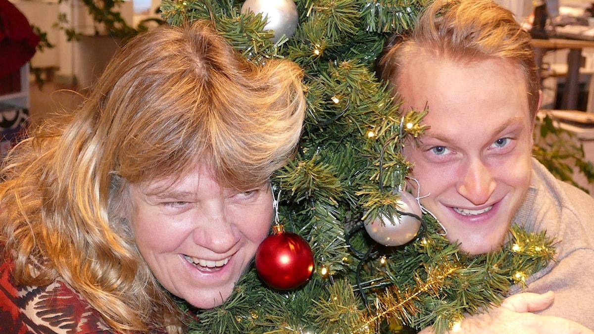 Mari Winarve och Hugo Wennström