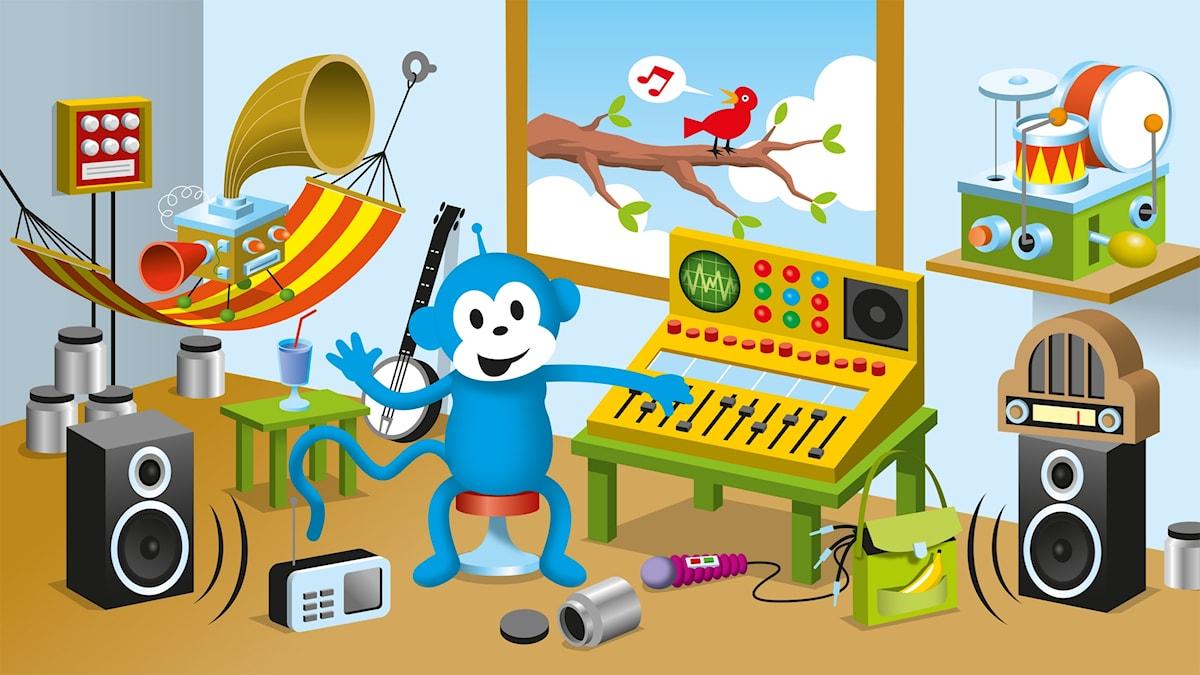 Radioapan mixar radio