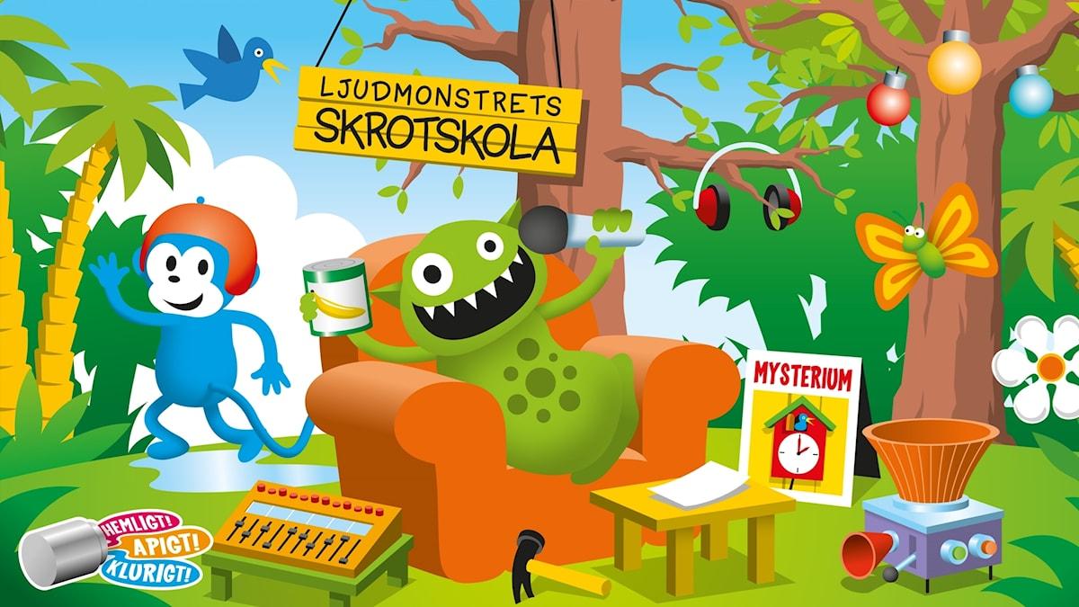 Radioapans mysterier i Sagoskogen: Den stulna timmen. Bild: Patrik Lindvall