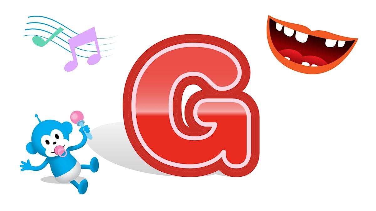 bokstaven g