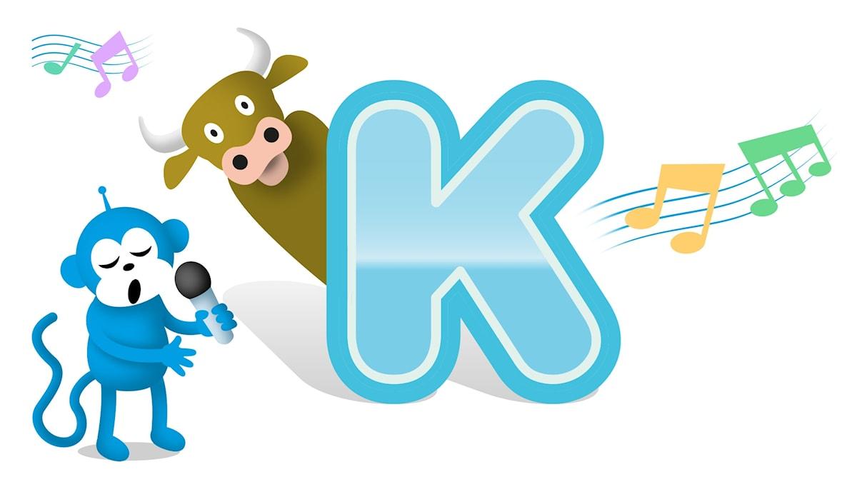 bokstaven k