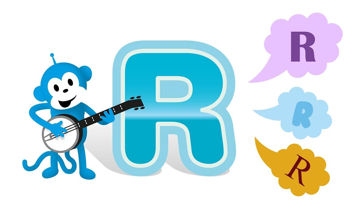 bokstaven r