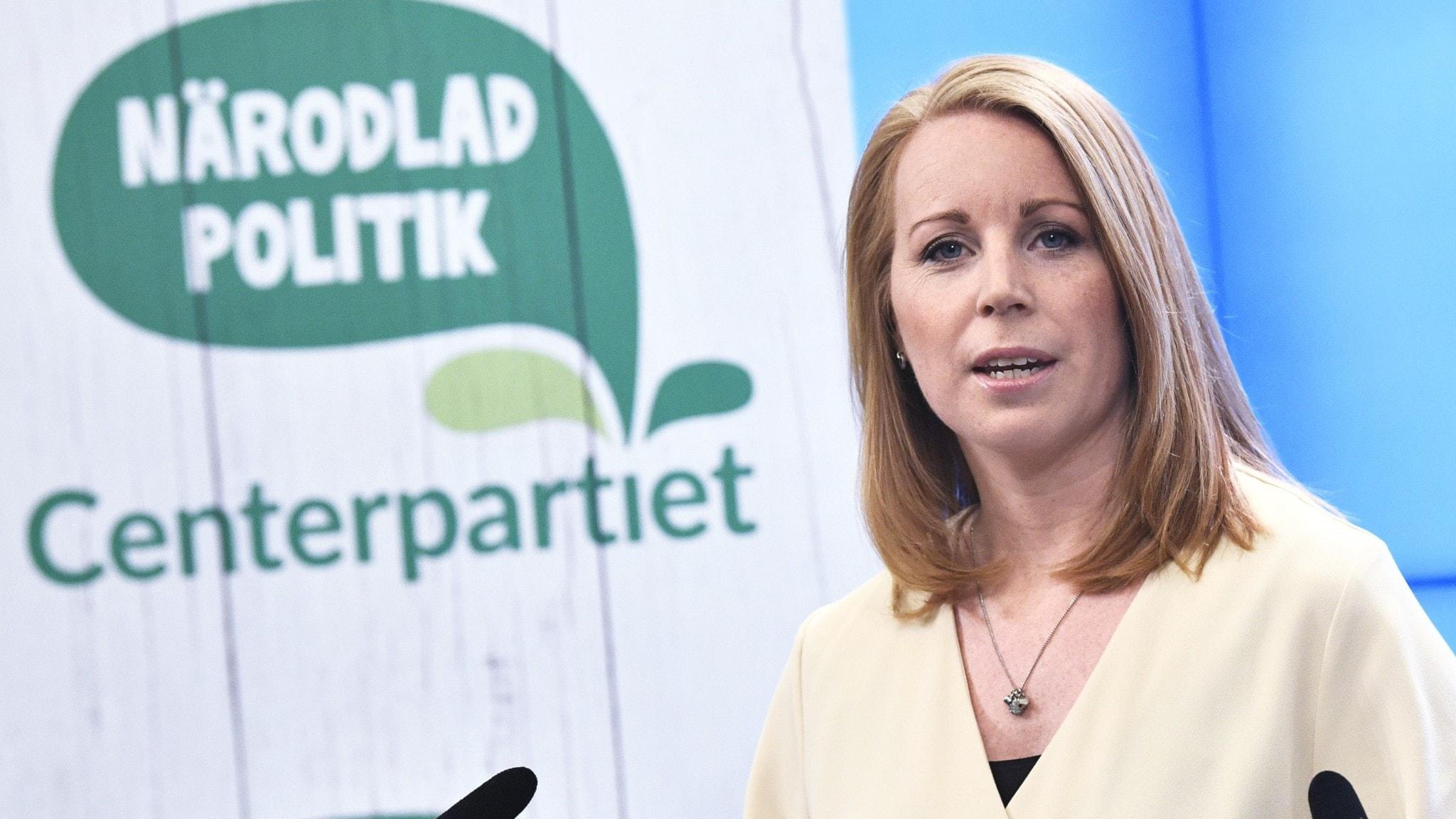 Centerpartiets partiledare Annie Lööf (C)