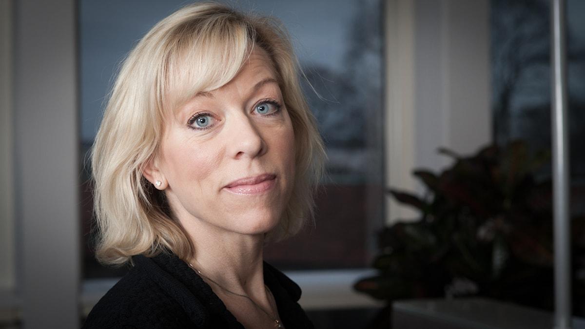Ginna Lindberg. Foto: Pablo Dalence/Sveriges Radio.