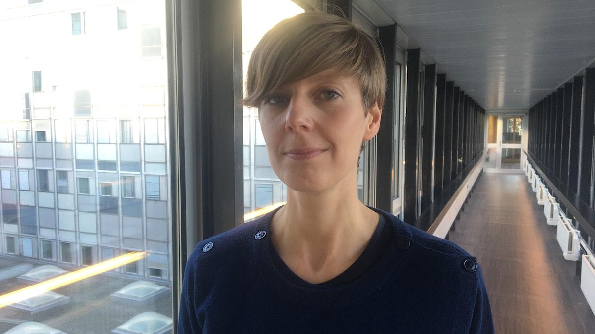 Programledare Karin Hållsten