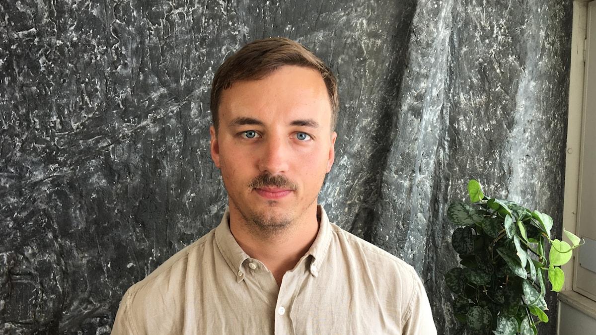Oskar Lodin, programledare Ekot