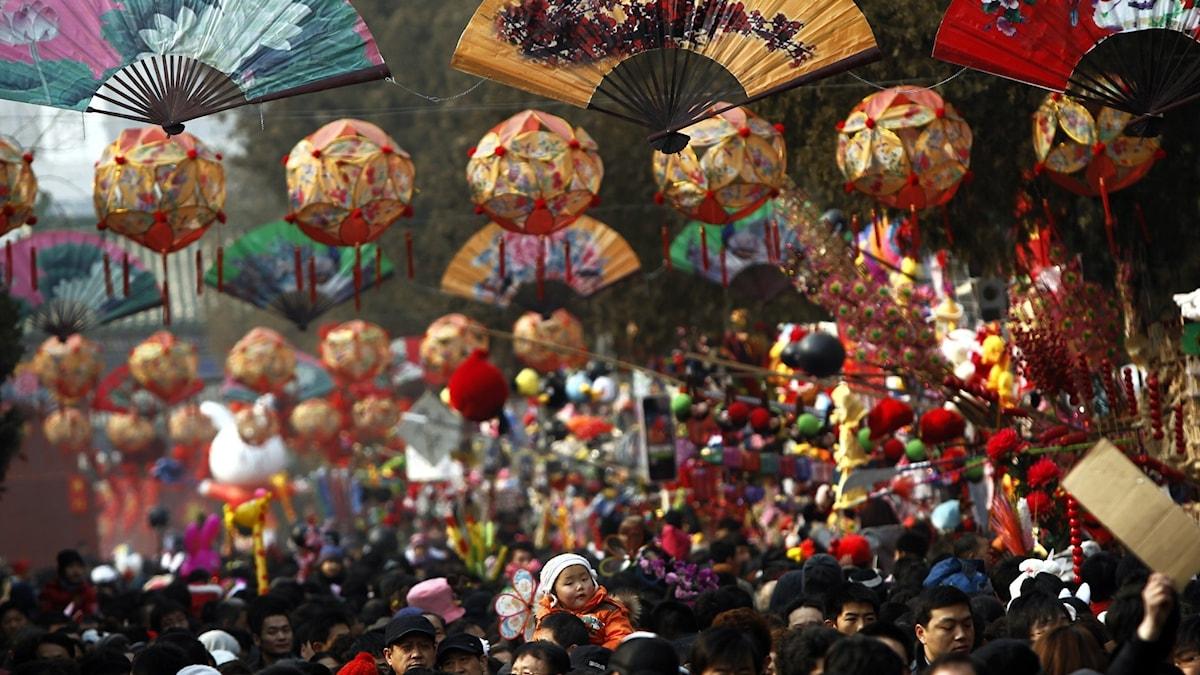 Kina ställer in nyårsfirandet i Peking