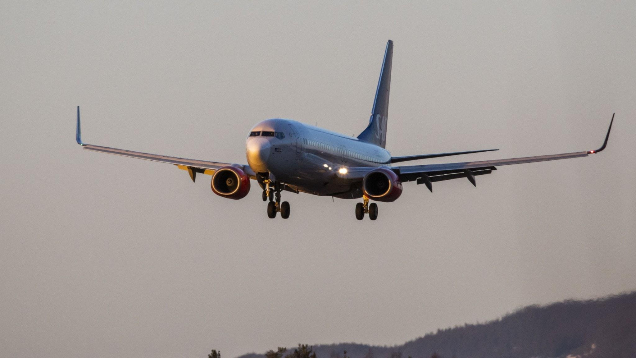 SAS ställer in flyg till och från Kina.