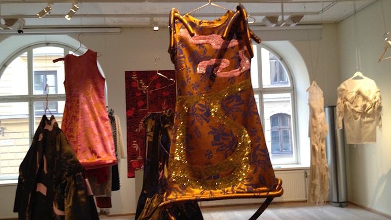 Finsk design på Finnish Fashion utställning i Stockholm