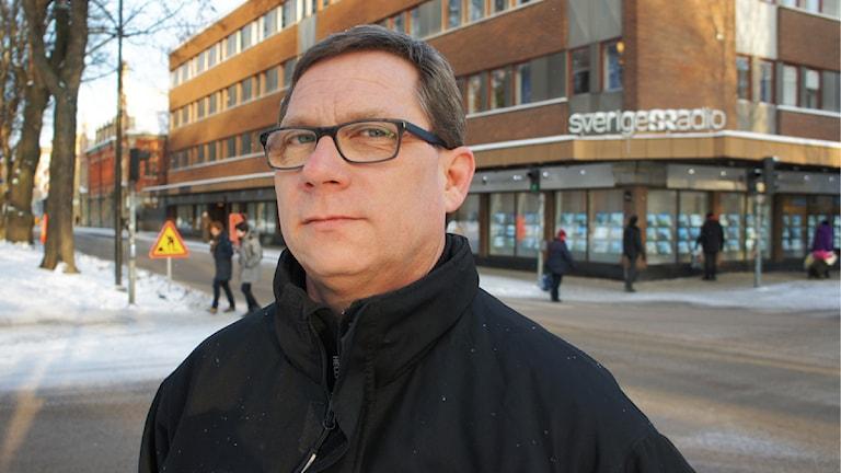 Mikael Andersson, teknisk producent. Foto: Linn Fogelberg