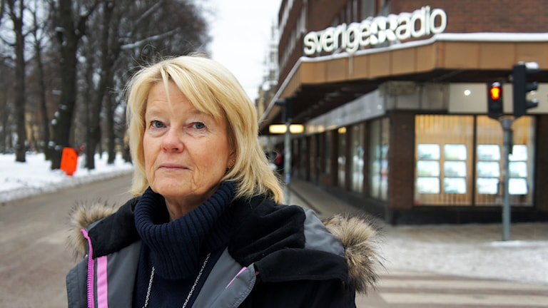 Ingegerd Engvall, SR-assistent. Foto: Linn Fogelberg