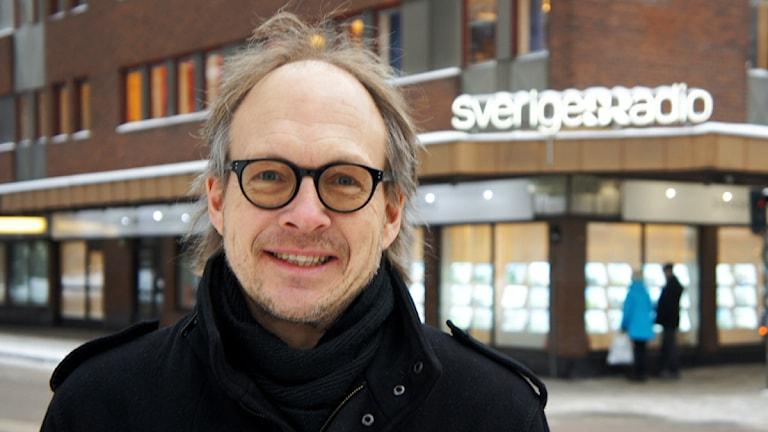 Larry Forsberg, programledare Fredag! Foto: Linn Fogelberg