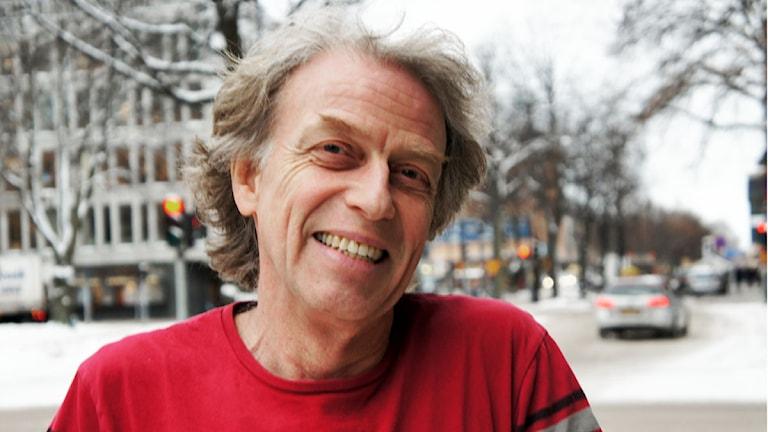 Mikael Sanner, programledare P4 Förmiddag. Foto: Linn Fogelberg/Sveriges Radio