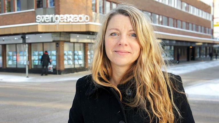 Kerstin Carlsson, kanalchef och ansvarig utgivare.