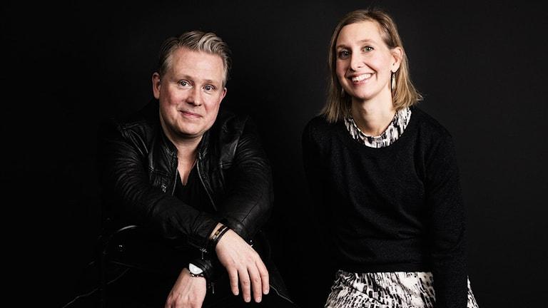 Pelle Moeld och Linda Nordeman