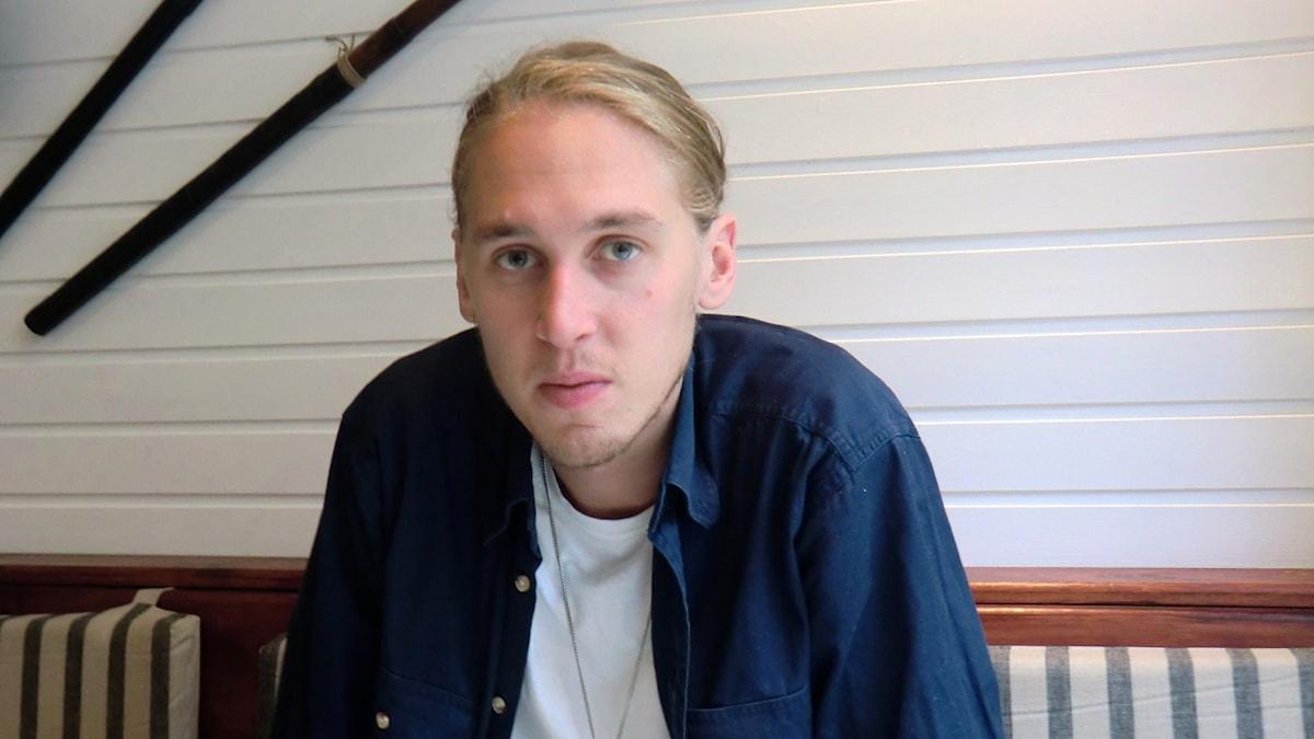 Thomas Stenström är gästredaktör i Musikguiden i P3. Foto: Karin Eller/Massa Media