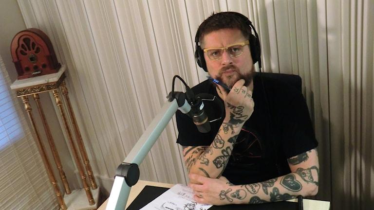 Patrik Arve från Teddybears är gästredaktör i Musikguiden. Foto: Karin Eller/Massa Media