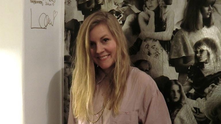 Linnea Olsson är gästredaktör i Musikguiden. Foto: Karin Eller/Massa Media