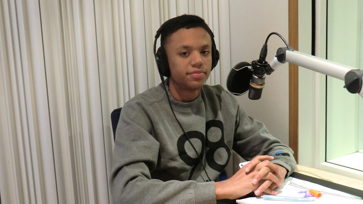 Adam Kanyama från rap-kollektivet One In A Million är gästredaktör i Musikguiden. Foto: Karin Eller/Massa Media