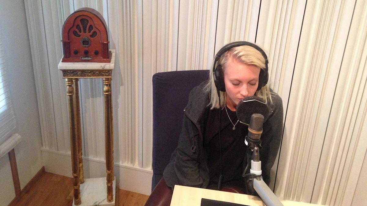 Julia Adams är gästredaktör i Musikguiden! Foto: Karin Eller/Massa Media