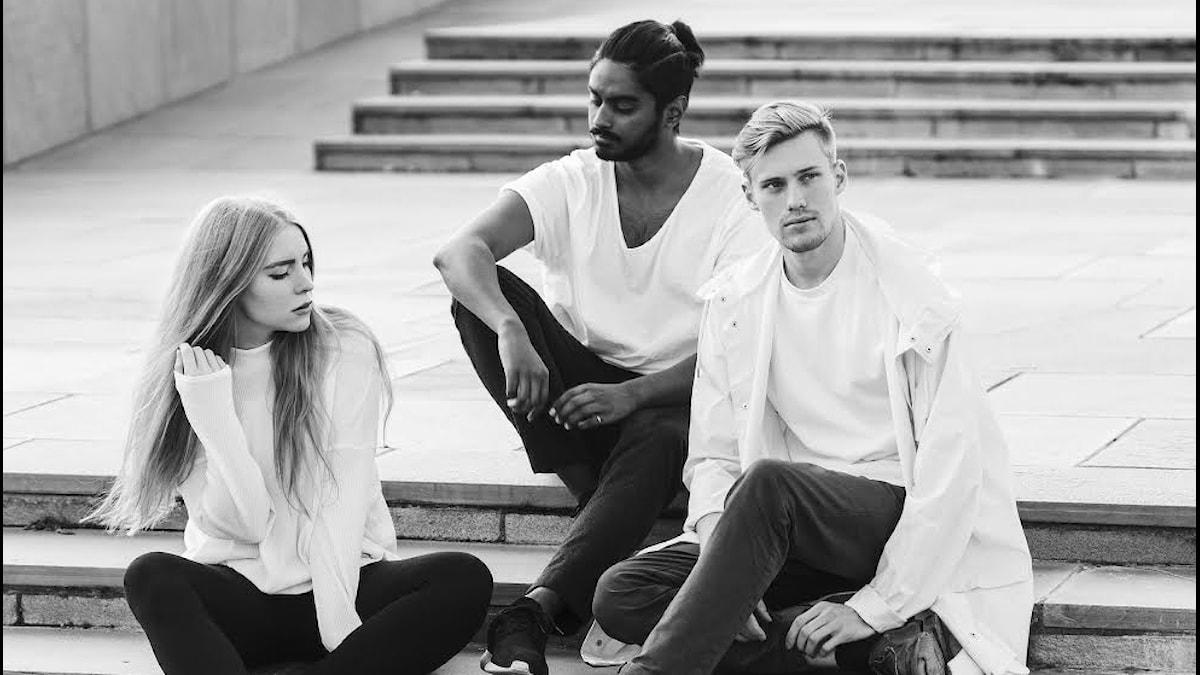 Sara, Nirob och Fredrik är Södra Station.