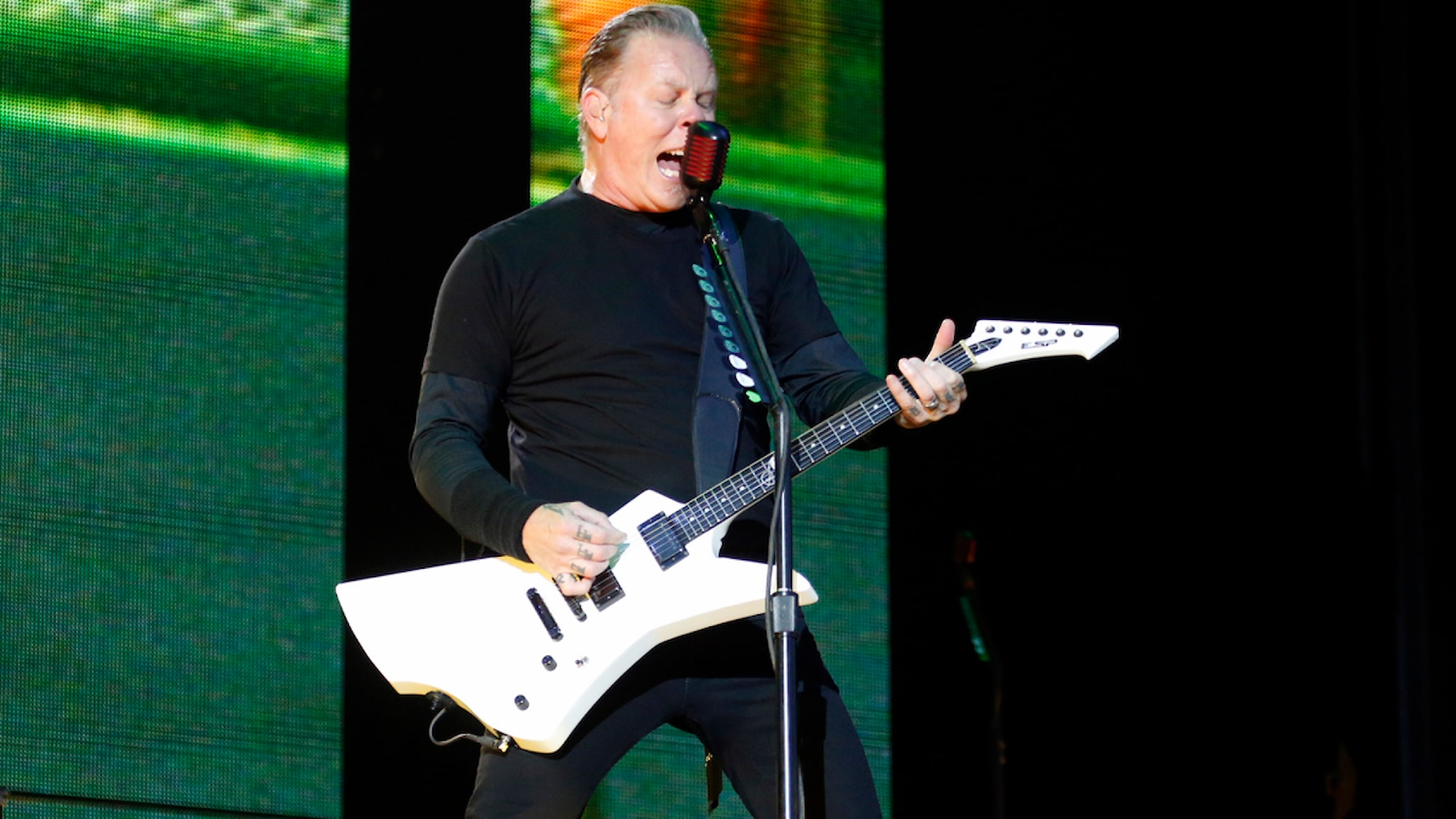 Metallica (foto: Björn Björnson/Sveriges Radio)