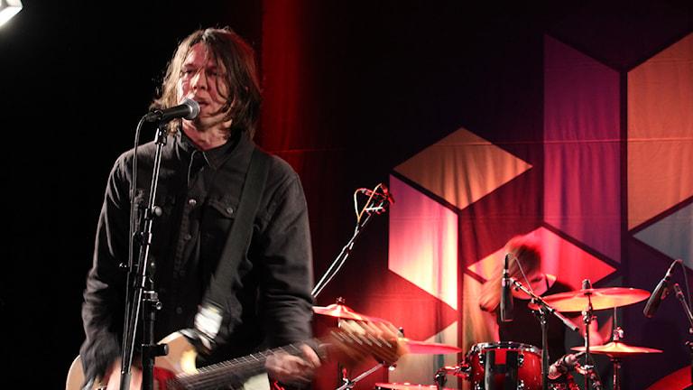 Hurula live i Session. Foto: Simon Lundberg/Sveriges Radio