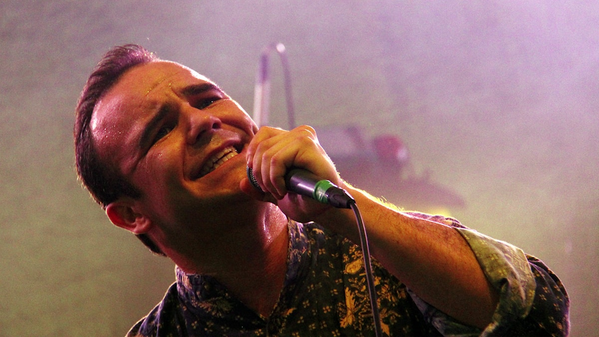 Future Islands på Way Out West 2015