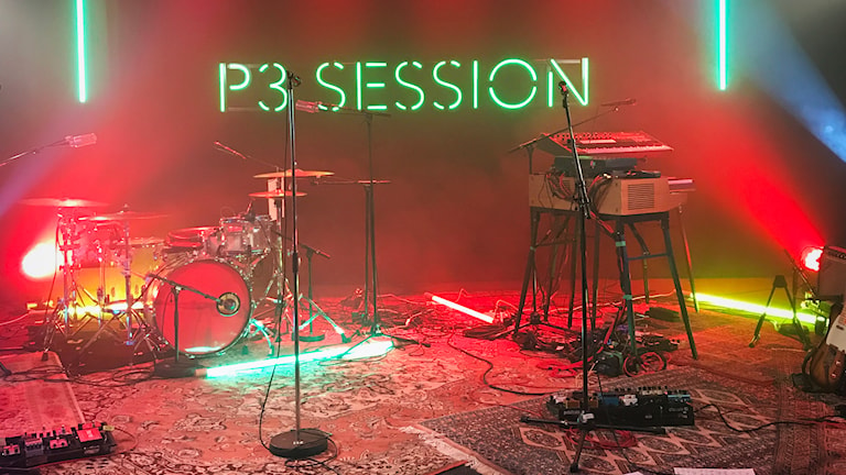 Inspelade livekonserter och P3 Session från P3