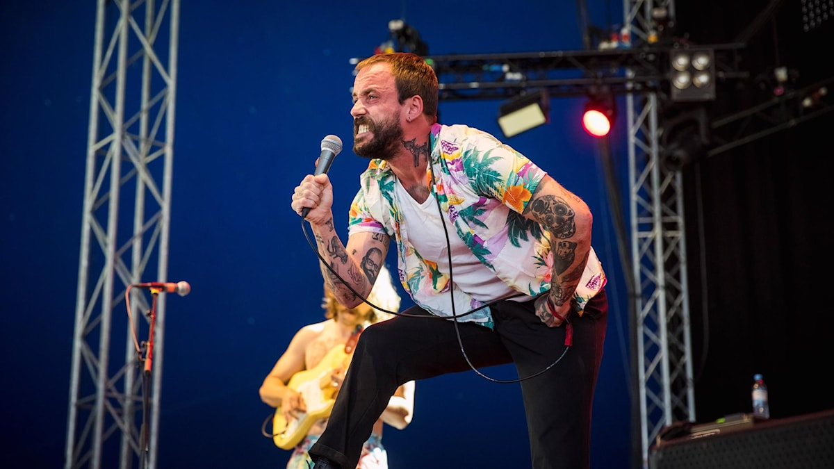 Idles på Way Out West 2019
