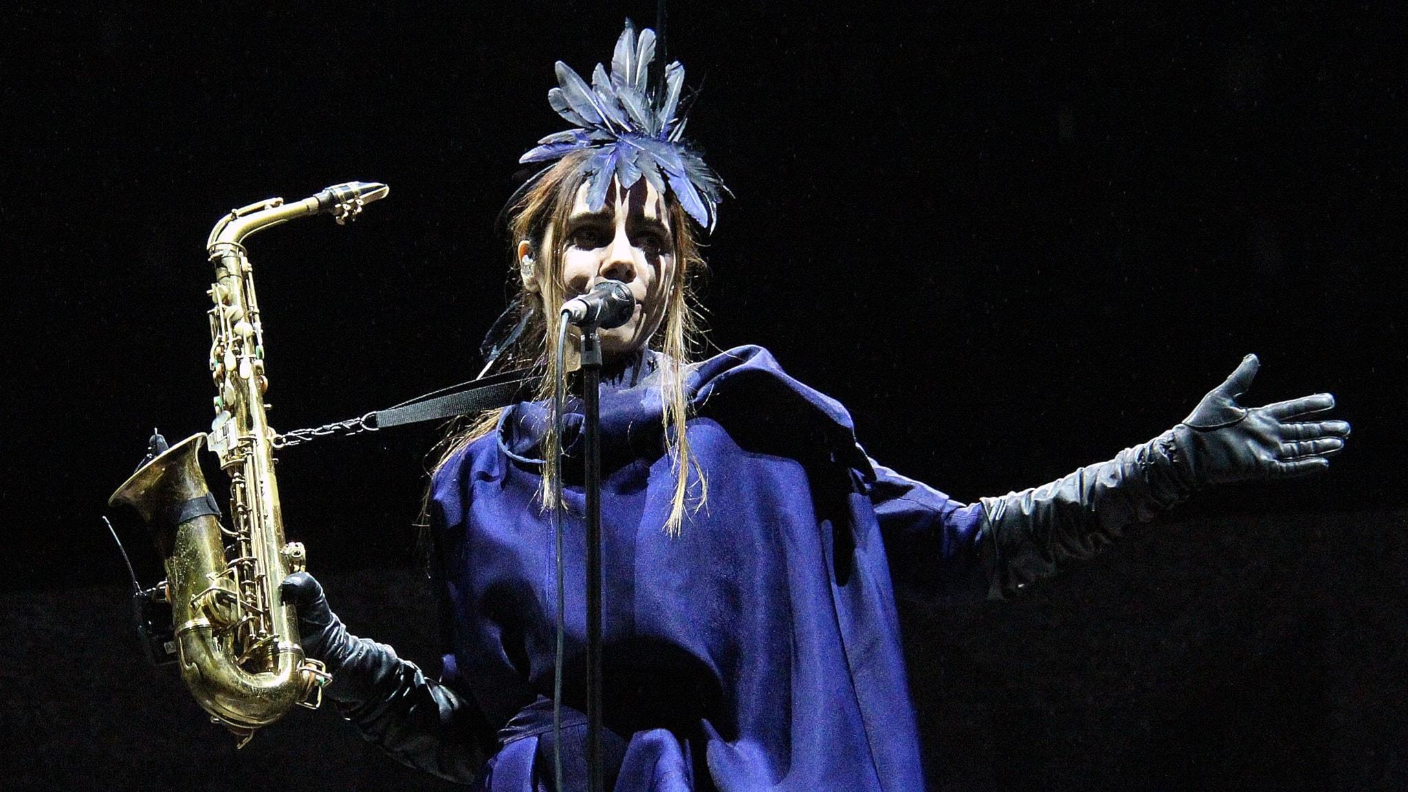 PJ Harvey på Way Out West