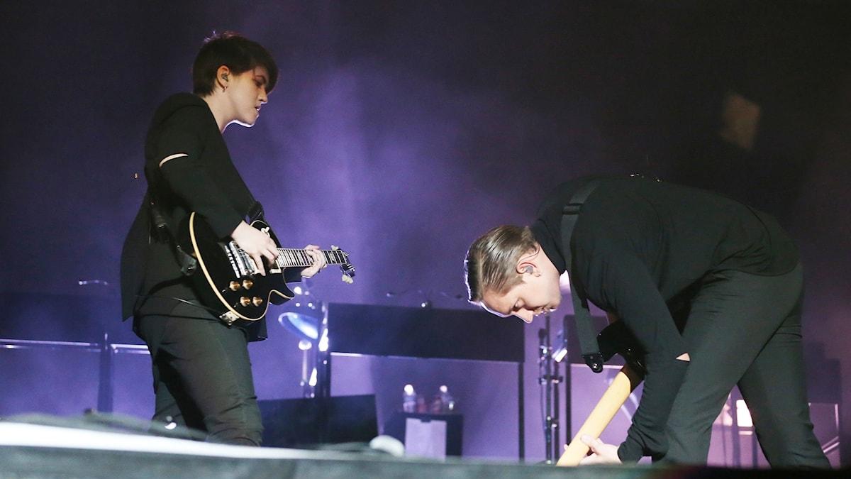 The xx på Coachella 2013.