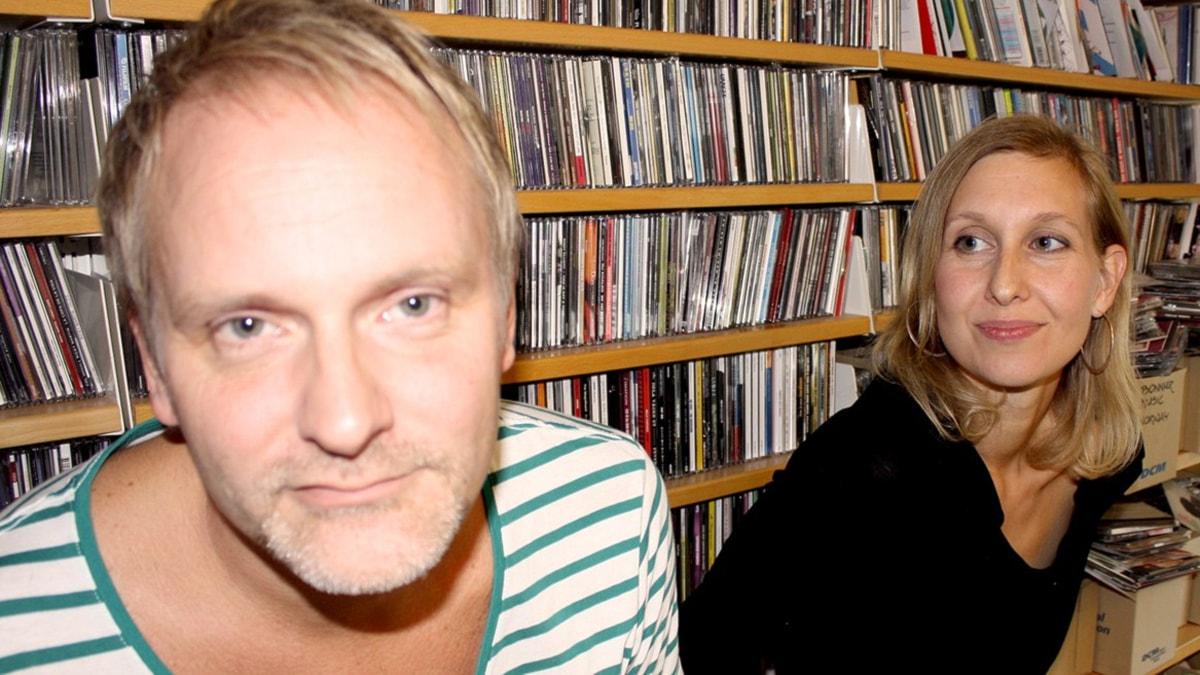 Germund Stenhag och Linda Nordeman
