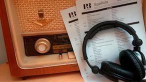 Gamml radio illustrerar P3:s Spellista Foto: Michael Cederberg/Sveriges Radio