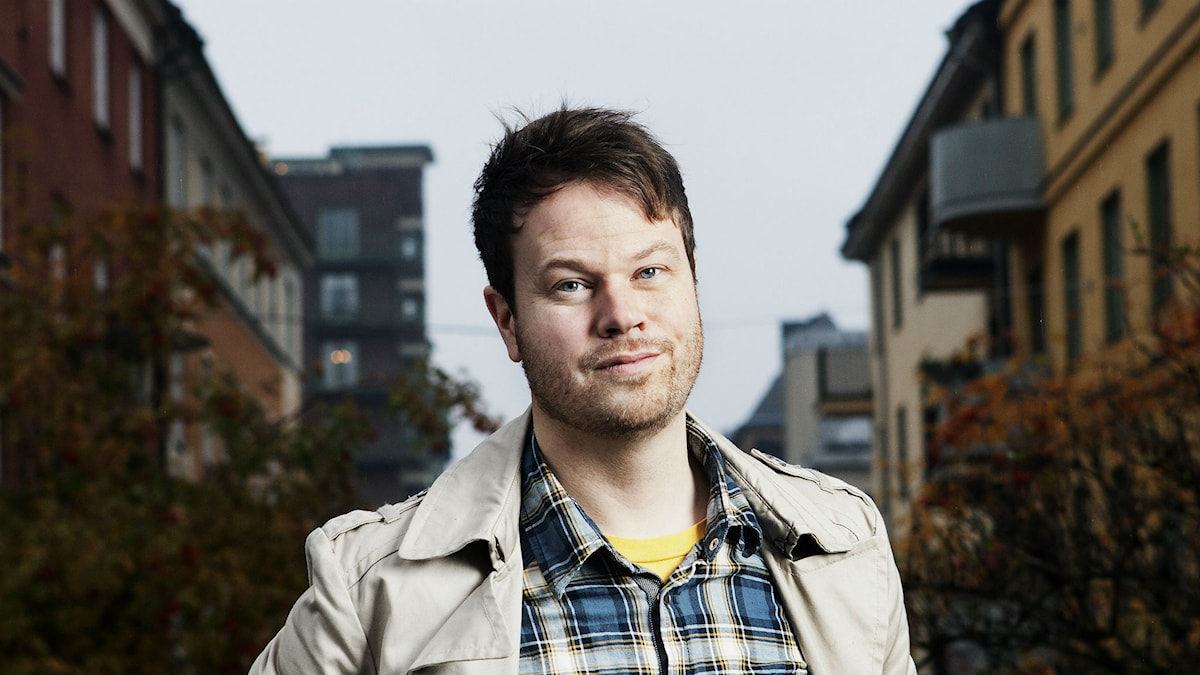 Anton Berg Foto: Mikael Andersson/Sveriges Radio