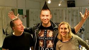 Pelle Moeld & Linda Nordeman Foto: Billy Rimgard/Sveriges Radio