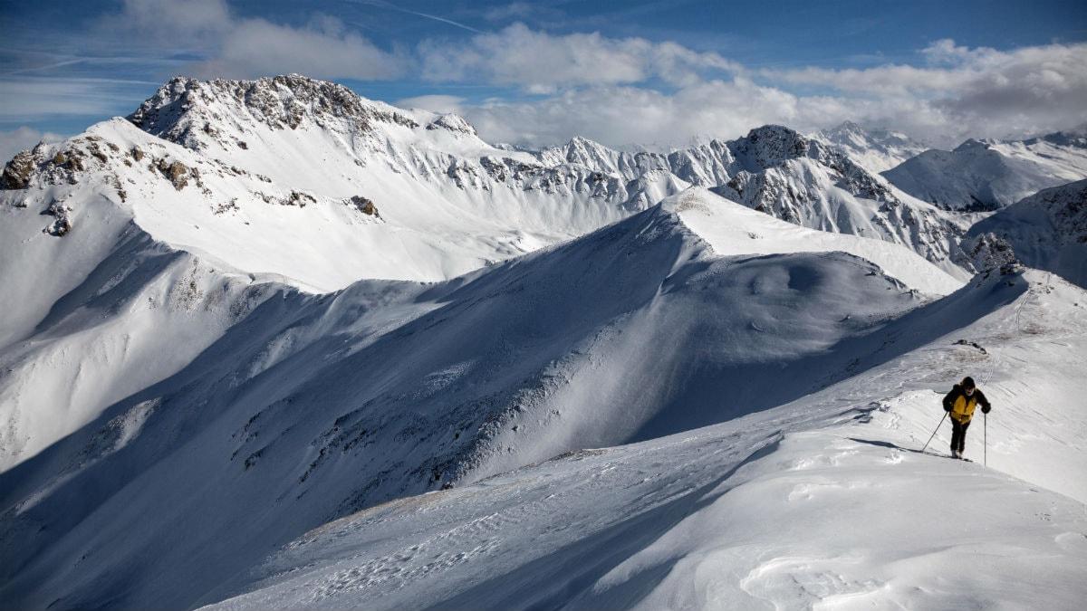 Alptopp. Foto: Arno Balzarini/TT