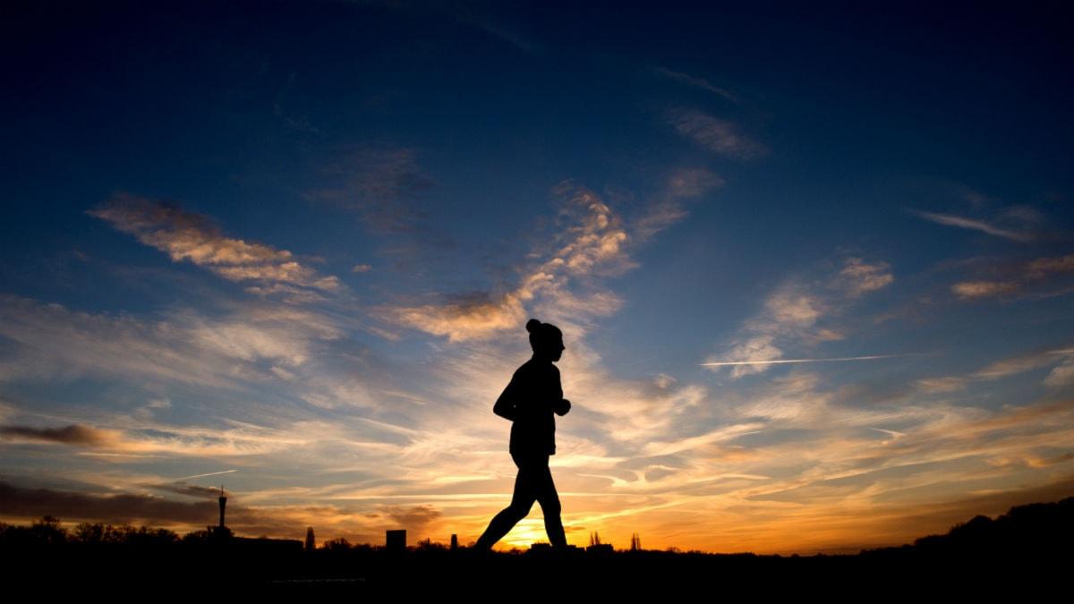 Jogging. Foto: Julian Stratenschulte/TT
