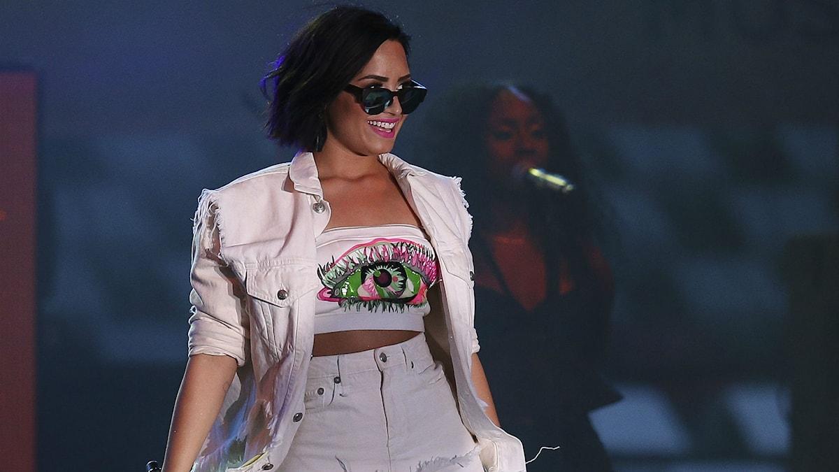 Demi Lovato. Foto: John Minchillo/TT