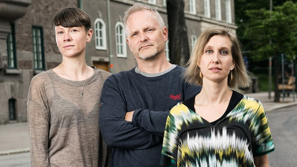 Karin Gunnarsson, Germund Stenhag och Linda Nordeman