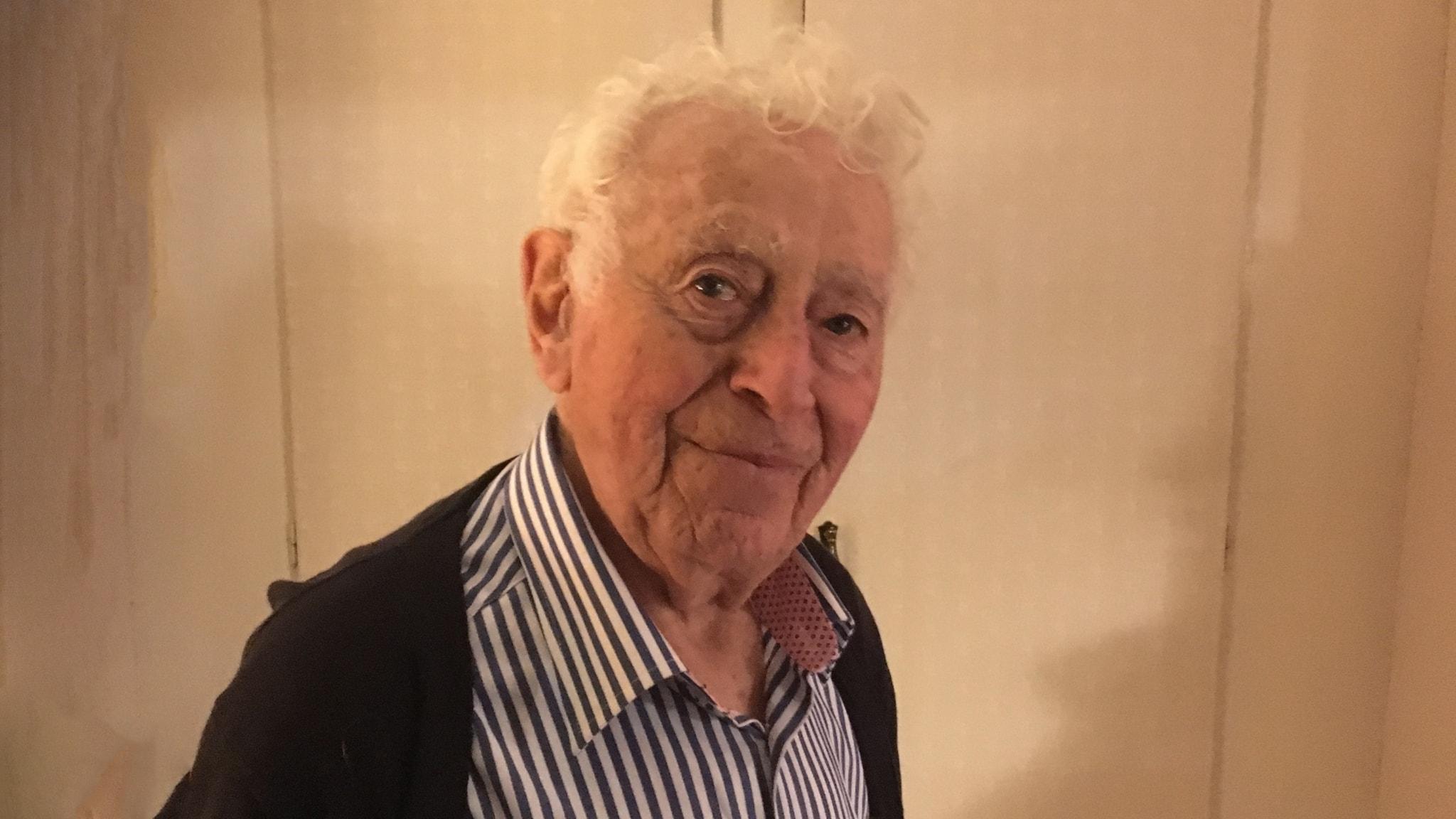 De sista rösterna från förintelsen - Leon Rytz, överlevare från Treblinka. Del 1