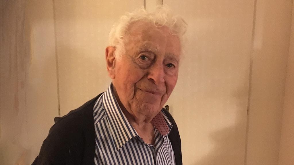Leon Rytz, överlevare från Treblinka