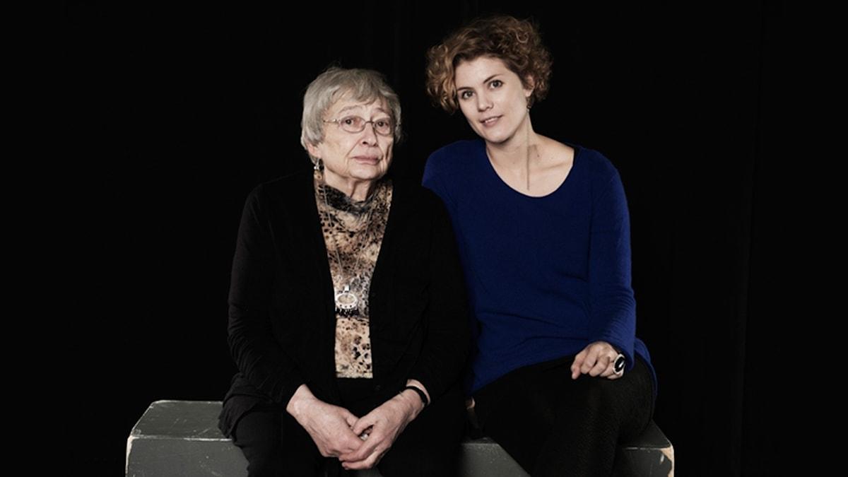 Susanna Christensen och Amanda Glans