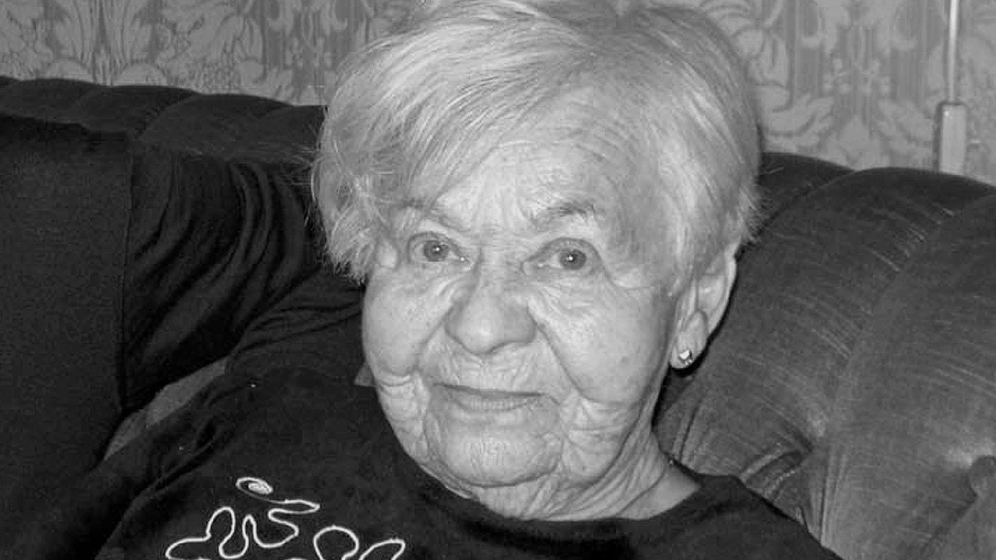 De sista rösterna från förintelsen - Ester Rytz, överlevande från Auschwitz
