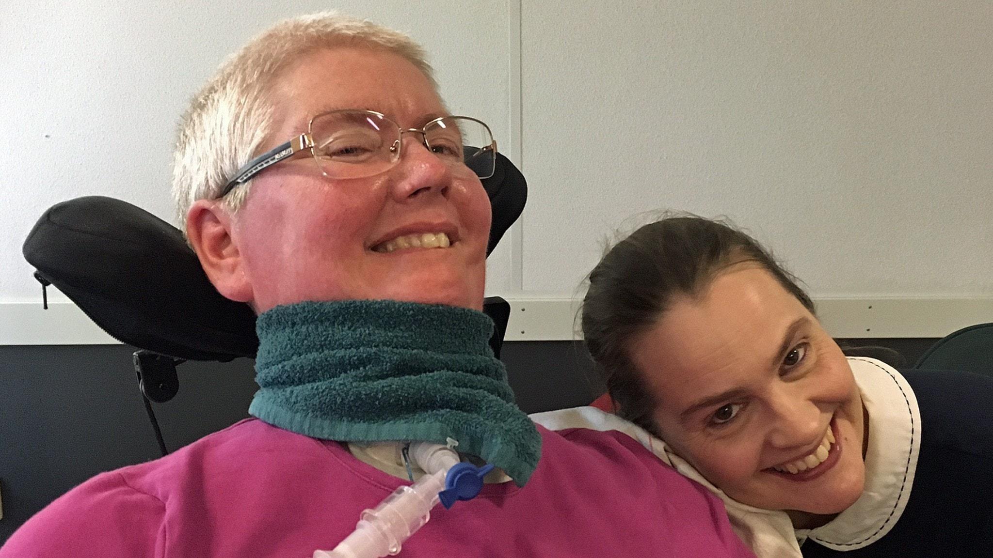 Tina Jansson och hennes syster Elin