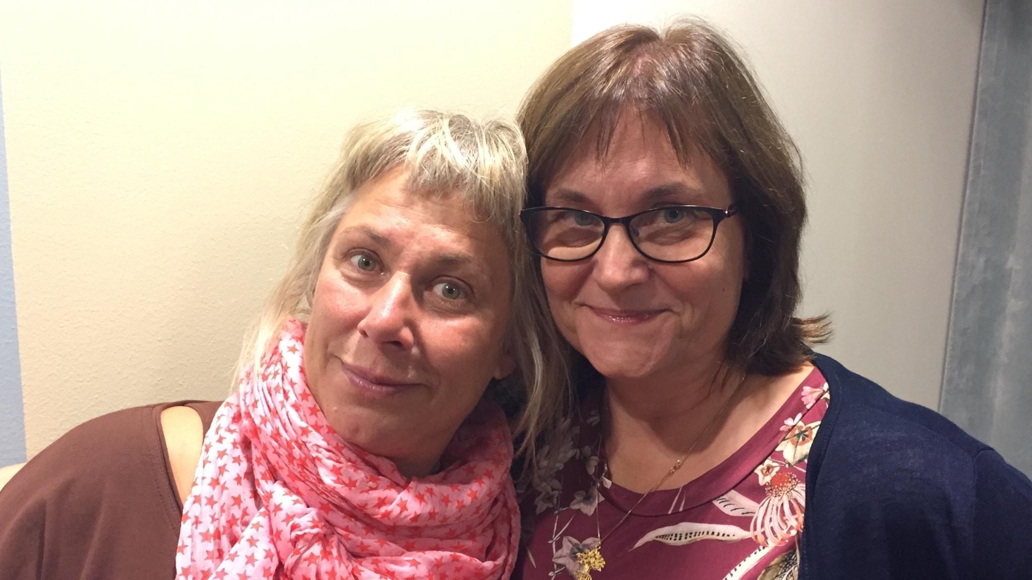 Stina med Lena om steget som förändrade hennes liv