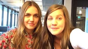 Emma Knyckare och Ann-Sofie Hoyles i götet! Foto: Emma Knyckare/Sveriges Radio